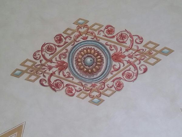 affreschi edil 900 canossa val d'enza