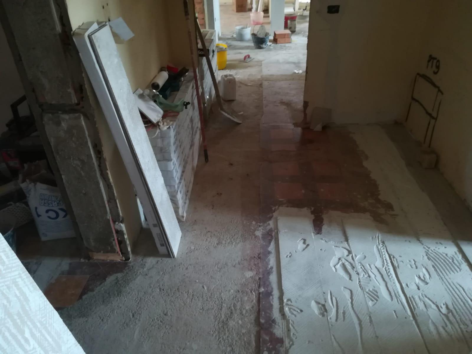 demolizione pavimenti edil 900 costruzioni canossa val d'enza reggio emilia parma